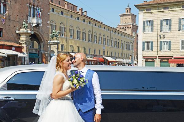 limousine servizio fotografico matrimoni