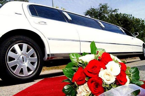 Limousine Lincoln Town Bianca
