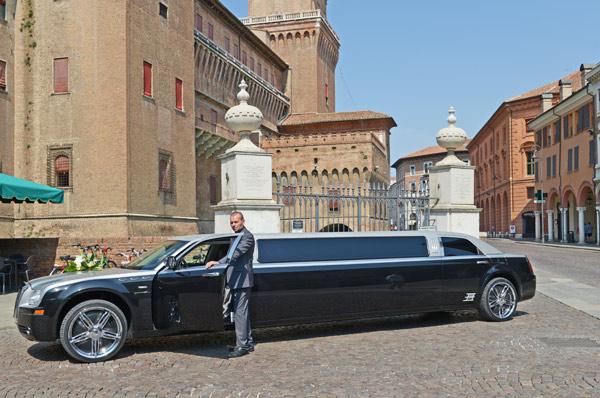 limousine con autista vicenza