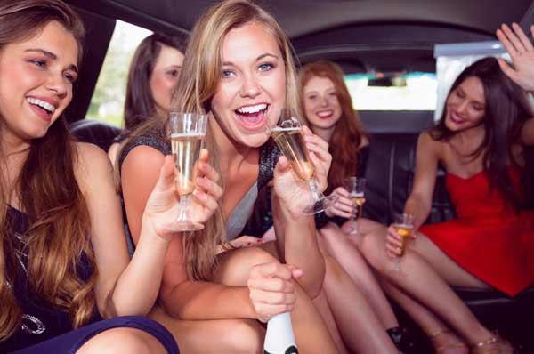 nubilato in limousine