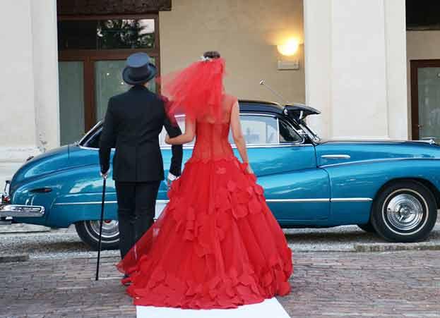 auto per matrimoni