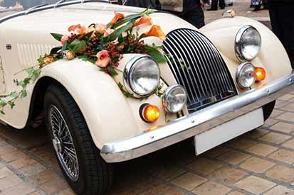 auto d'epoca per matrimoni