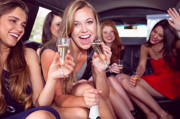 addio al nubilato in limousine