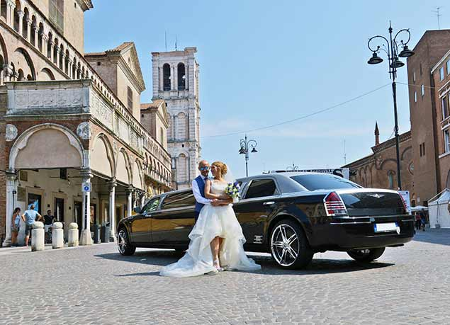 matrimonio con limousine