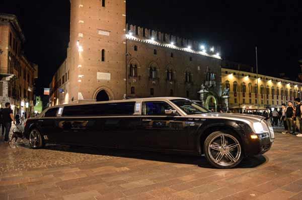 limousine per eventi Ferrara