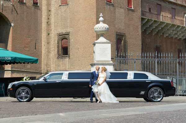 limousine per matrimoni Ferrara