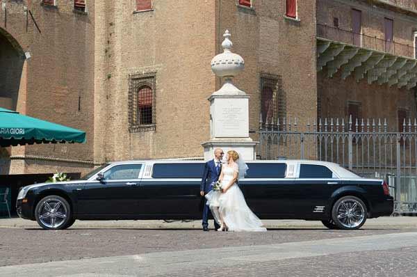 limousine per matrimoni Rimini