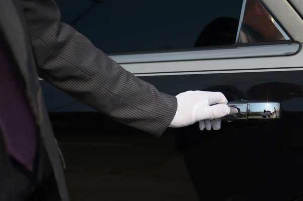 limousine con autista